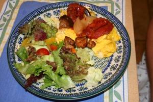 Dinner pre-Irene